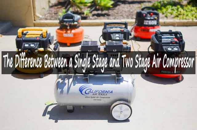 Single Stage and Two Stage Air Compressor