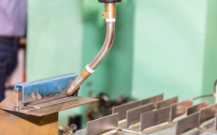 MIG welding liner
